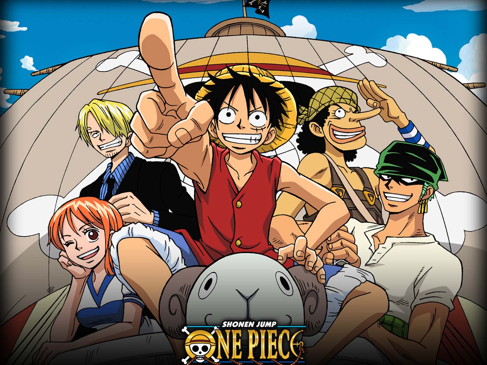 Wallpapers For > One Piece Crew Wallpapers