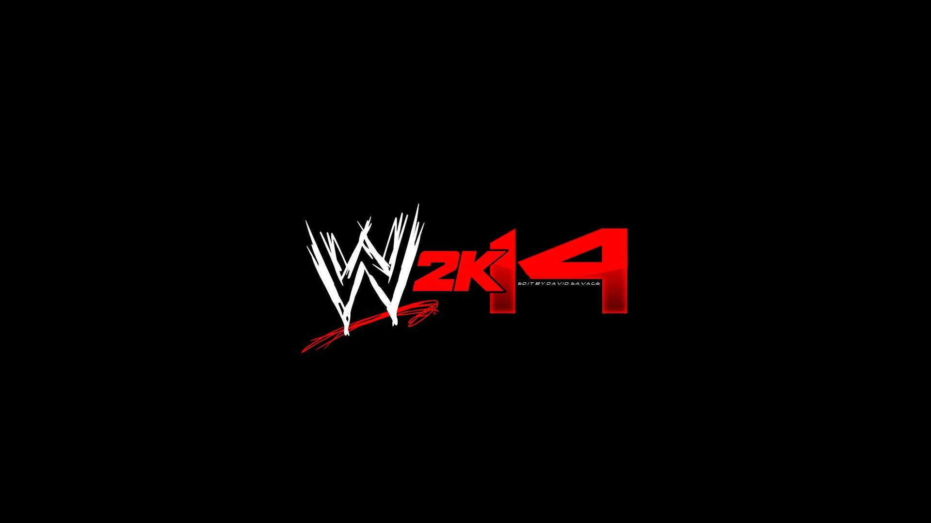 WWE 2K14 Black Logos 5417 Wallpaper