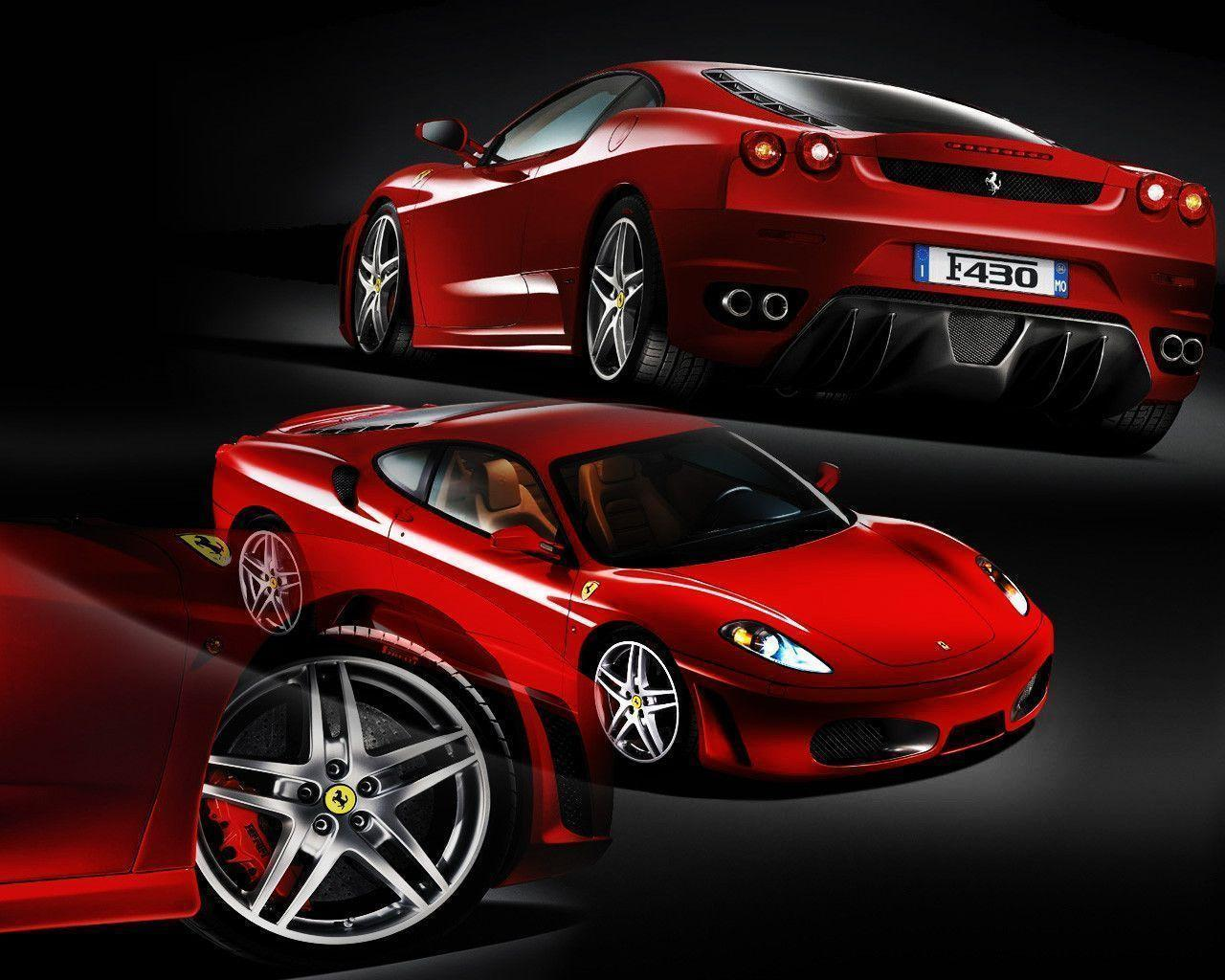 FunMozar – Red Ferrari Wallpapers