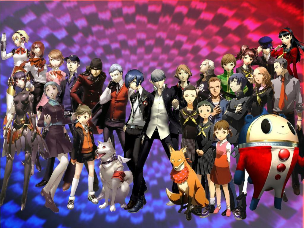 I just put the wallpapers i have :p - Persona 4 The Anime/The ...