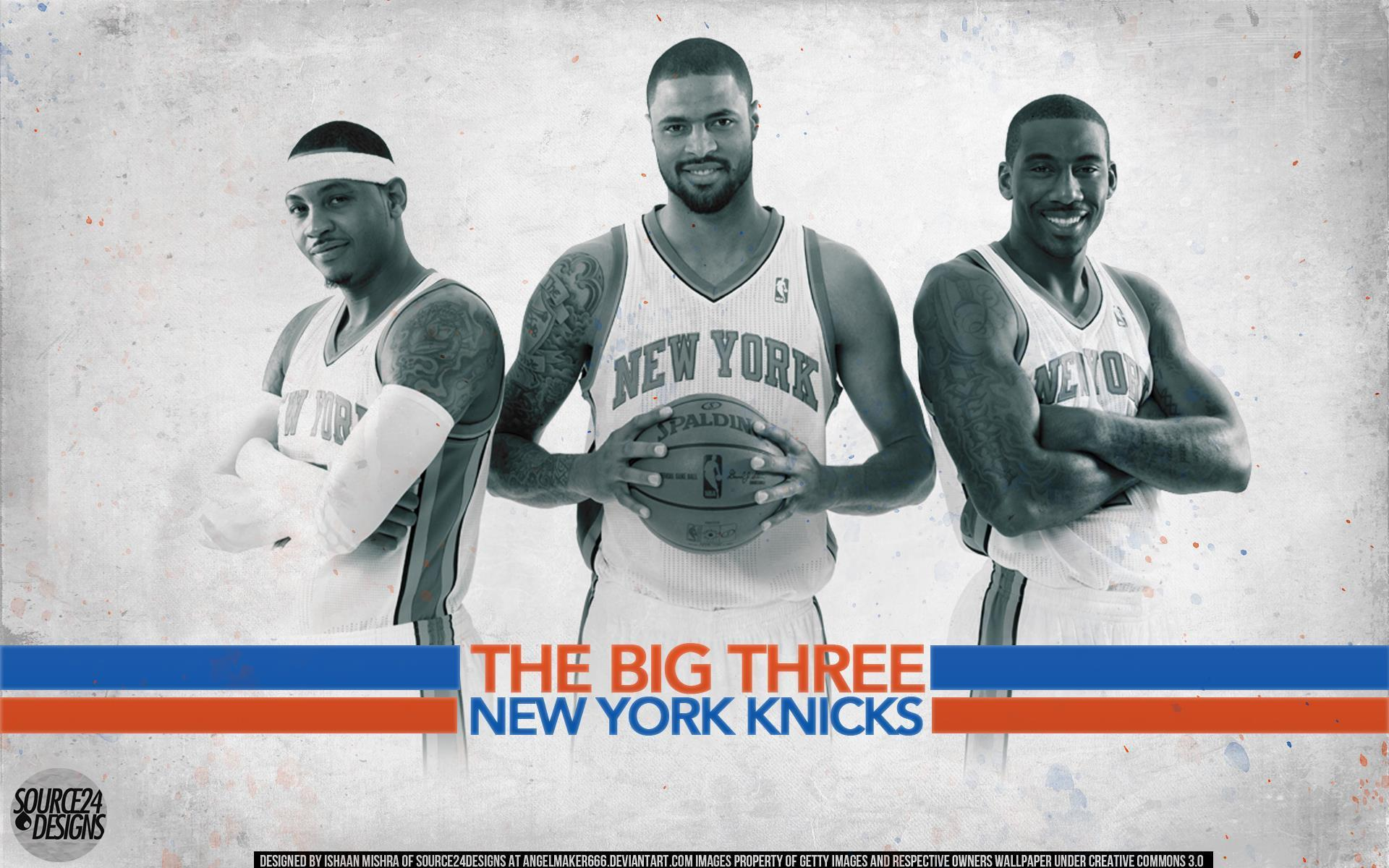 New York Knicks Big Three Wallpapers by IshaanMishra