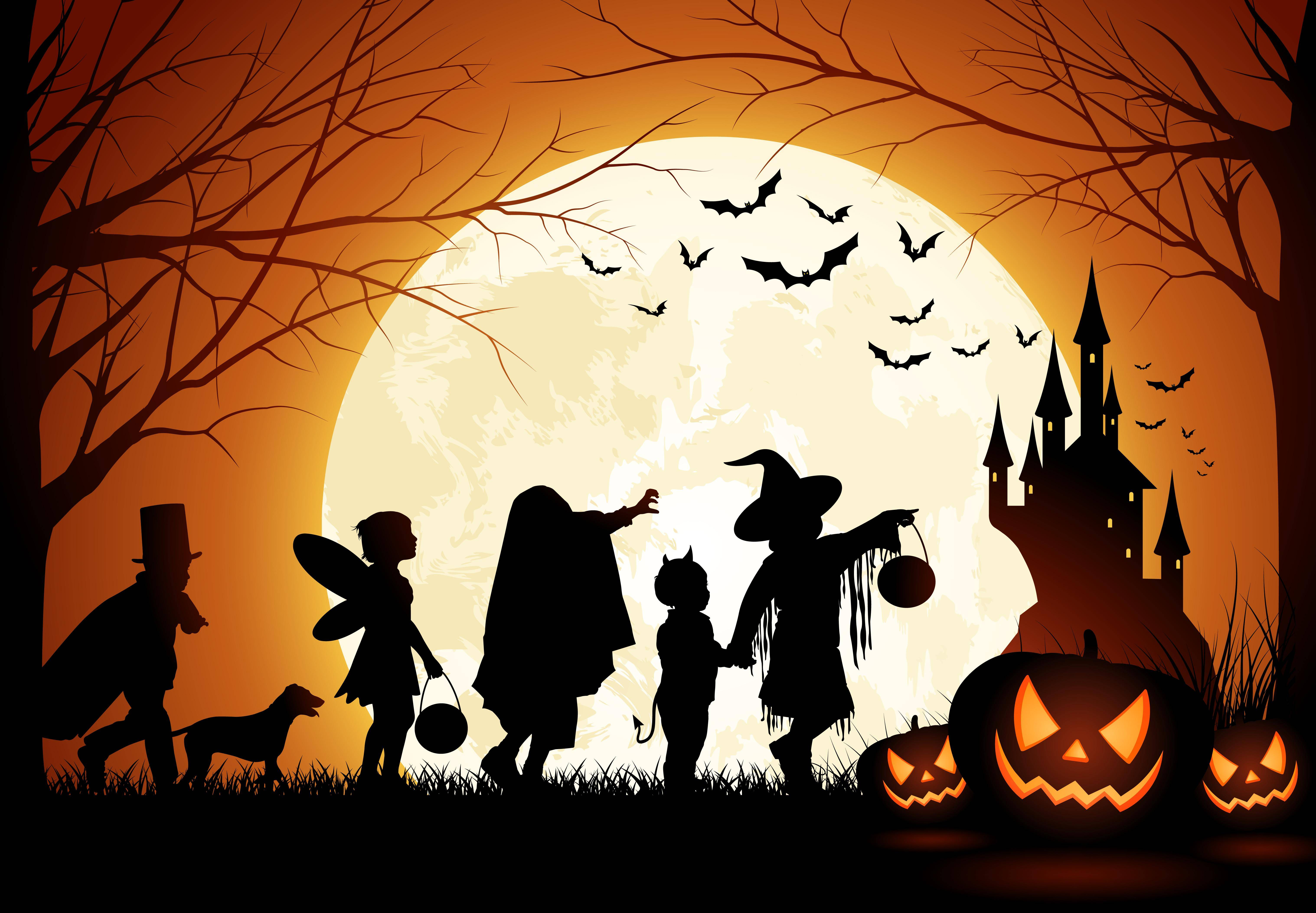 Halloween themes pictures