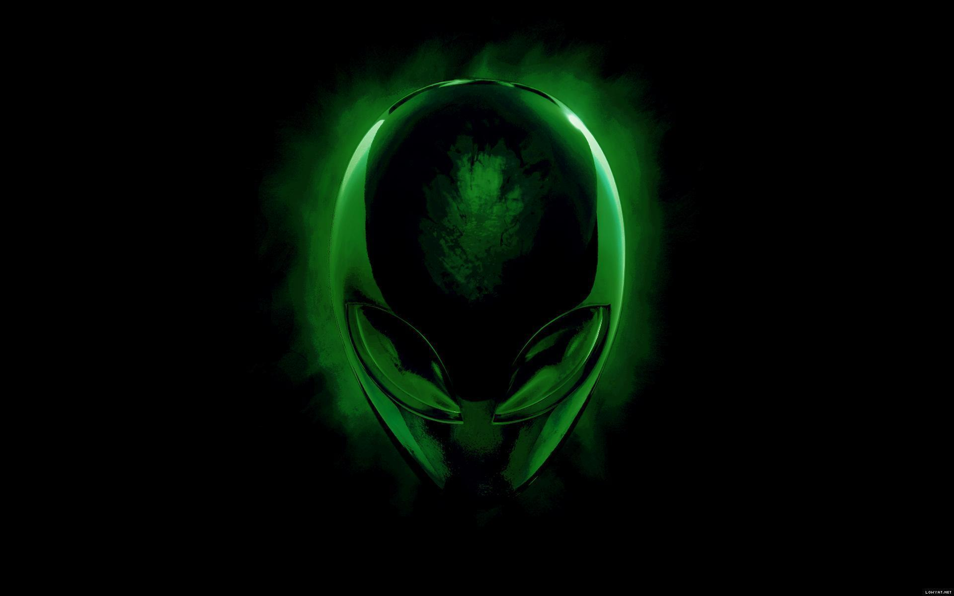 alienware wallpaper green hd - photo #5