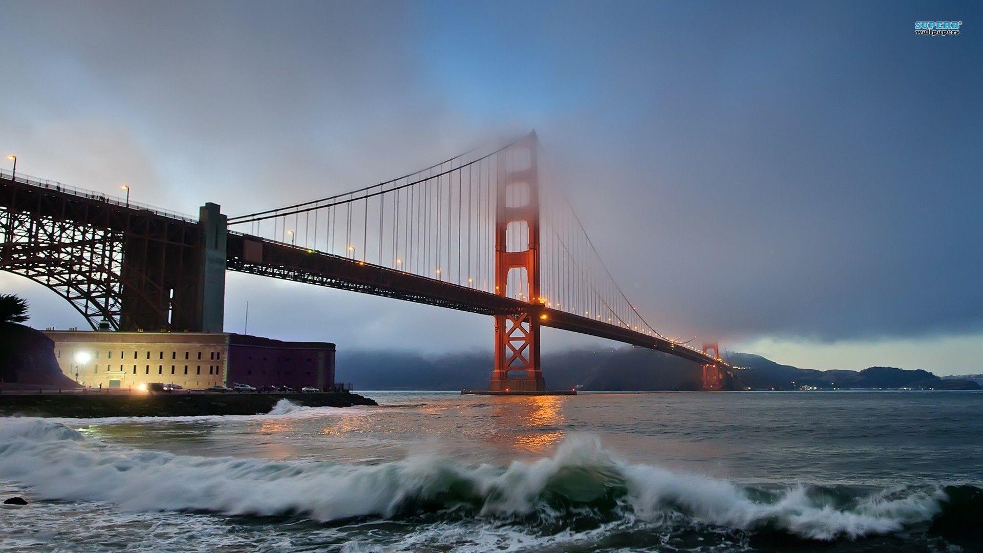 Golden Gate Bridge wallpaper - World wallpapers - #
