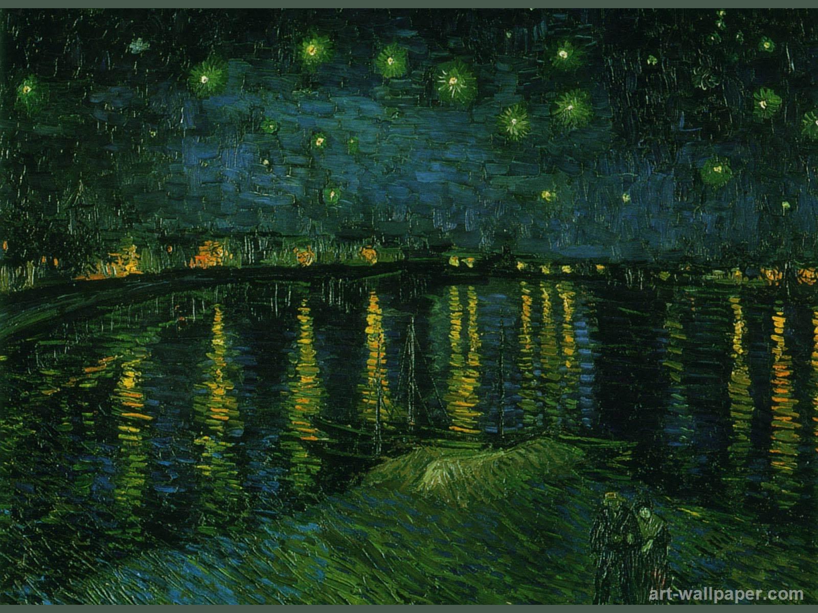 Van Gogh Desktop Wallpapers Wallpaper Cave