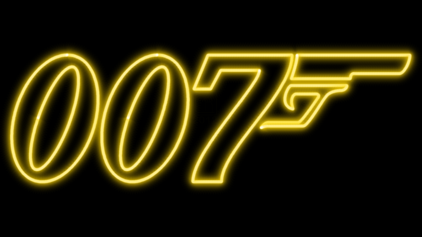 James Bond 007 Neon Symbol WP by MorganRLewis