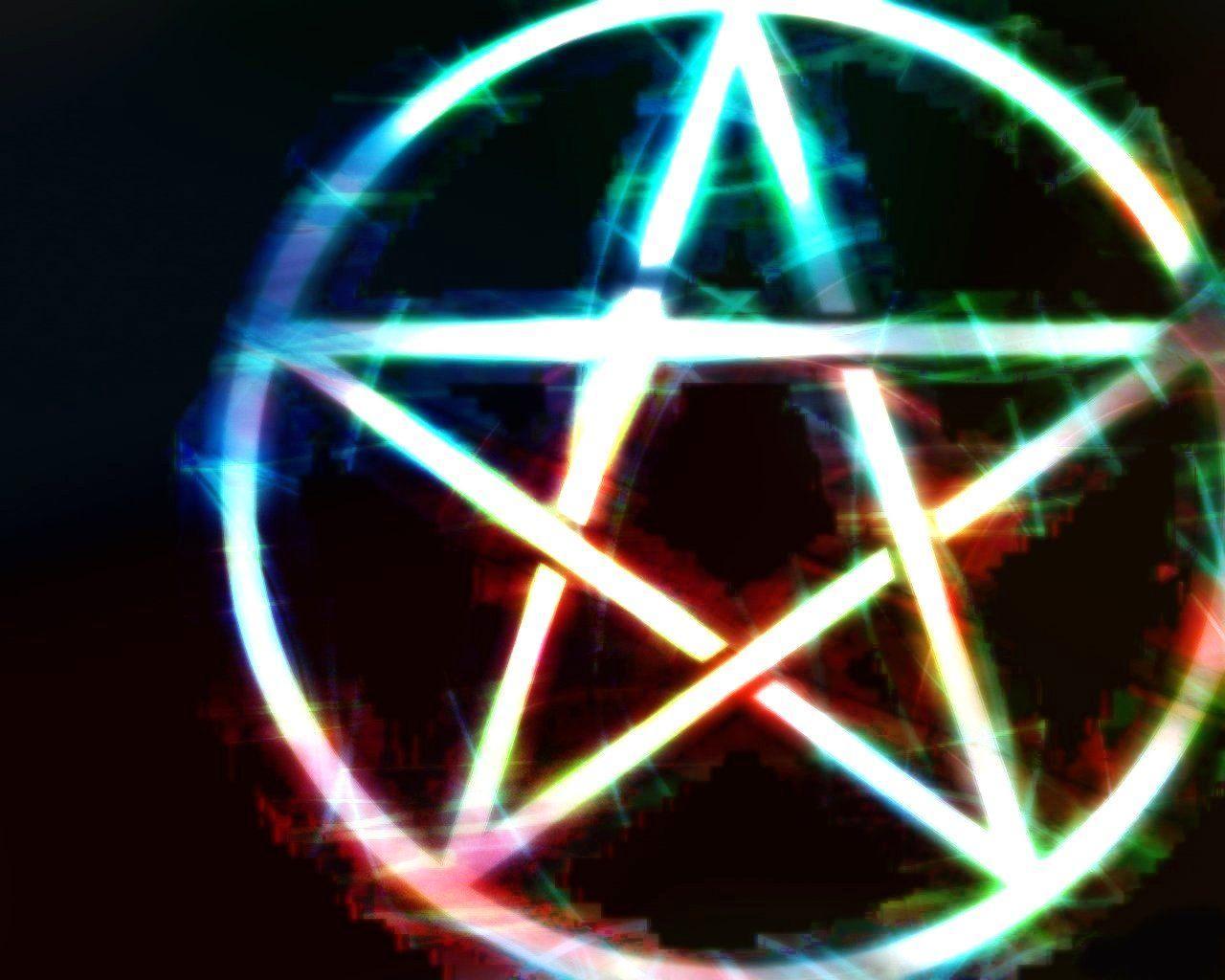 wiccan pentagram wallpaper - photo #7