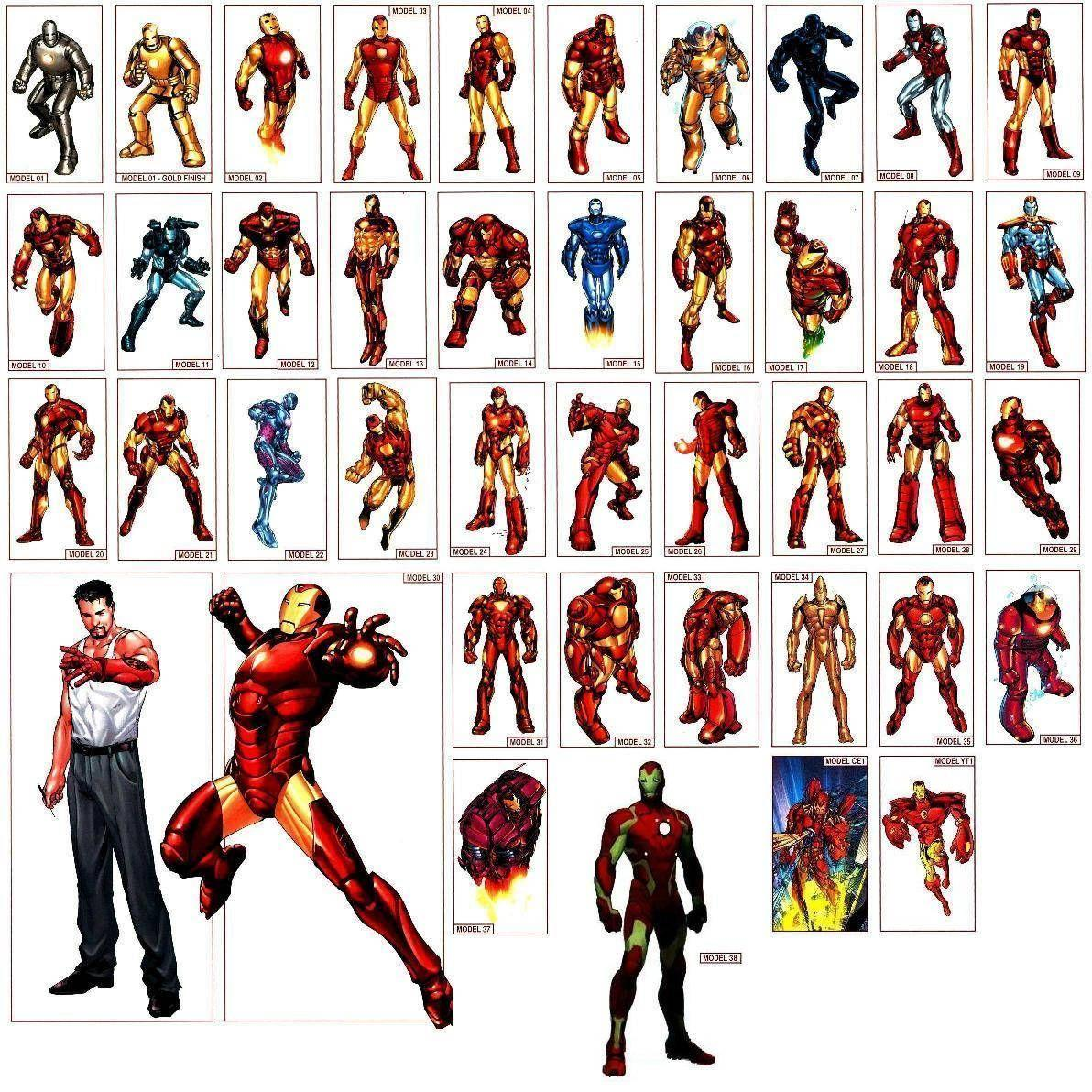 Iron Man Armor Wallpapers Wallpaper Cave