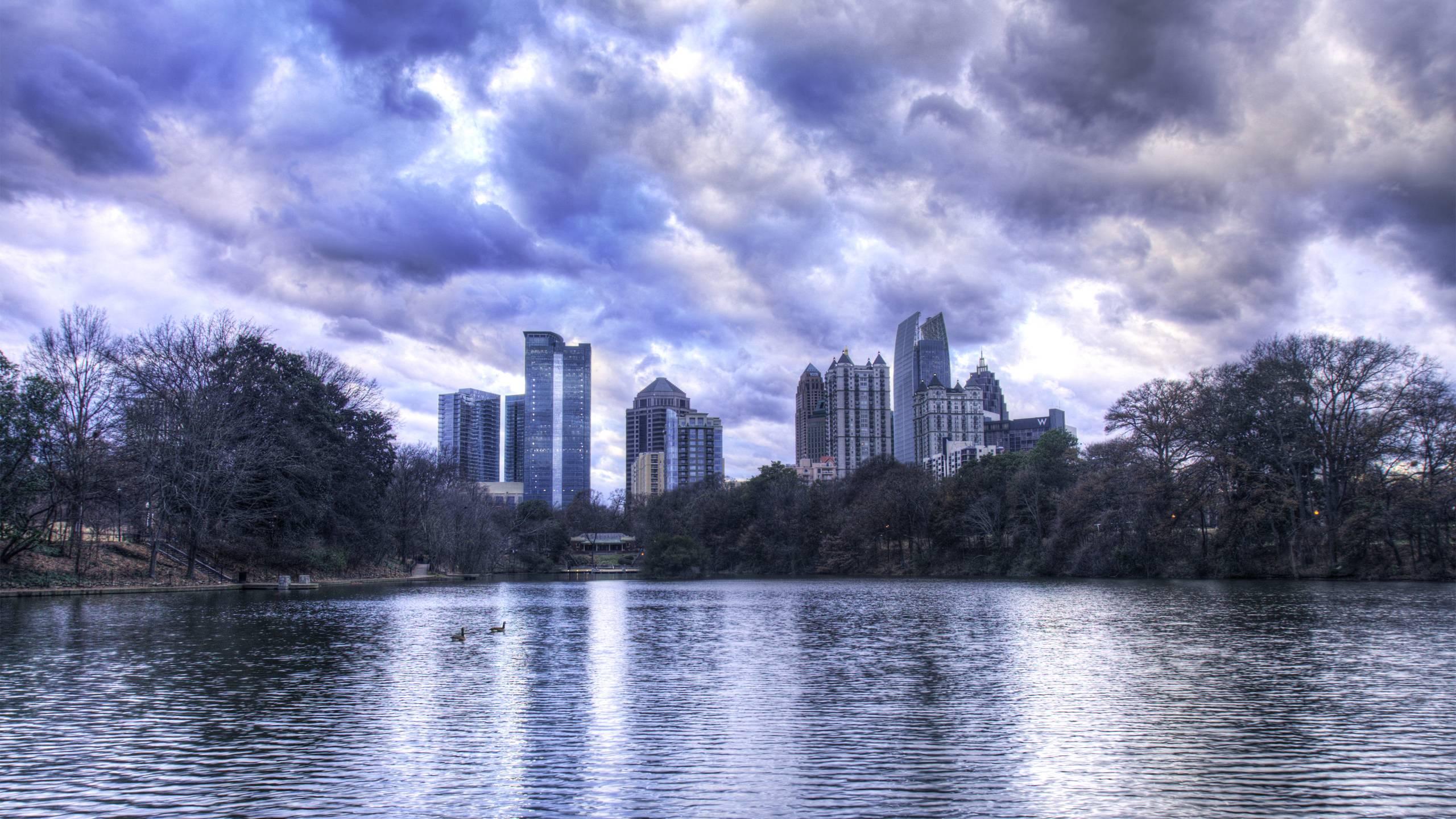 Image Result For Atlanta Skyline Wallpaper Awesome Atlanta Skyline Wallpapers Wallpaper Cave