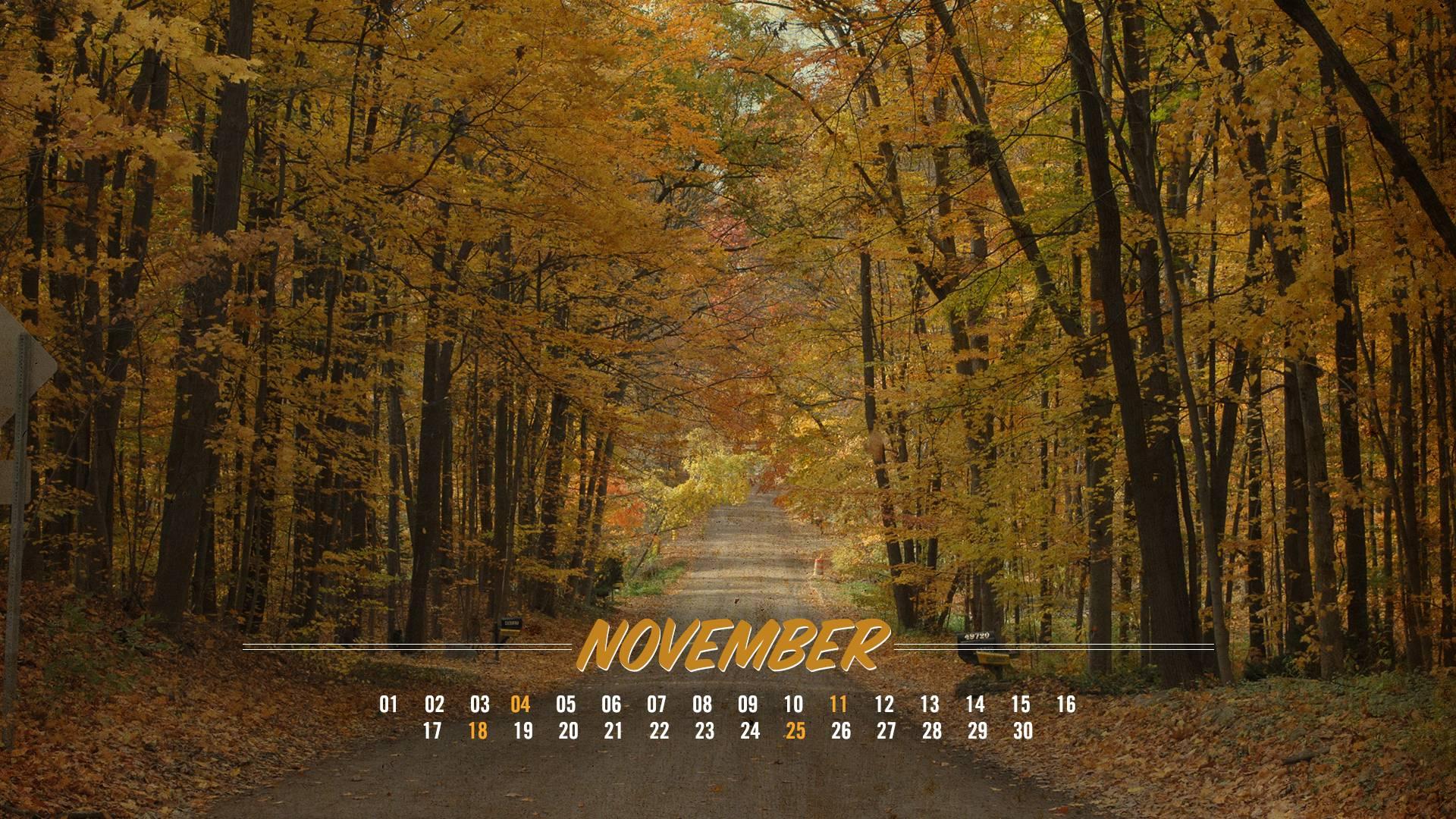 november wallpapers