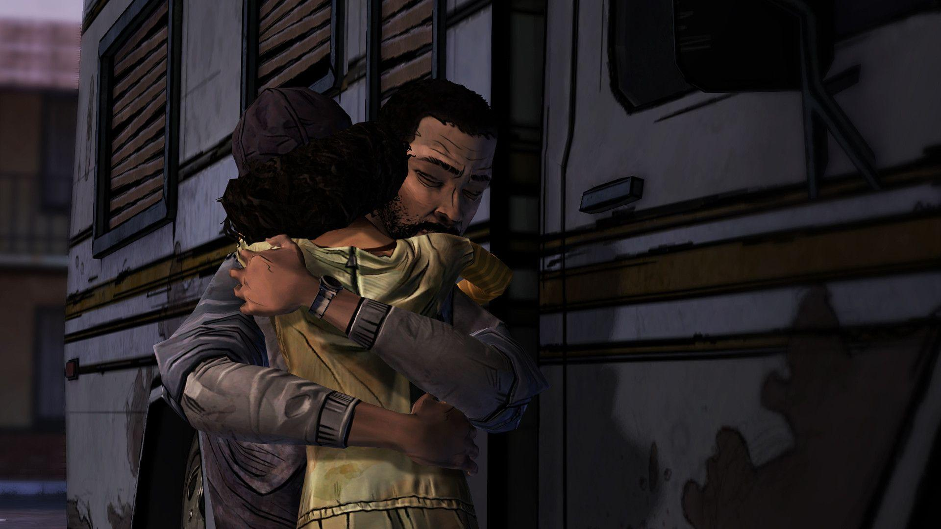 Image For > Walking Dead Game Iphone Wallpapers