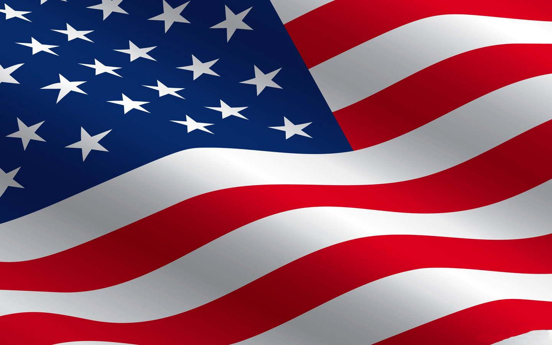 waving flag zoom background