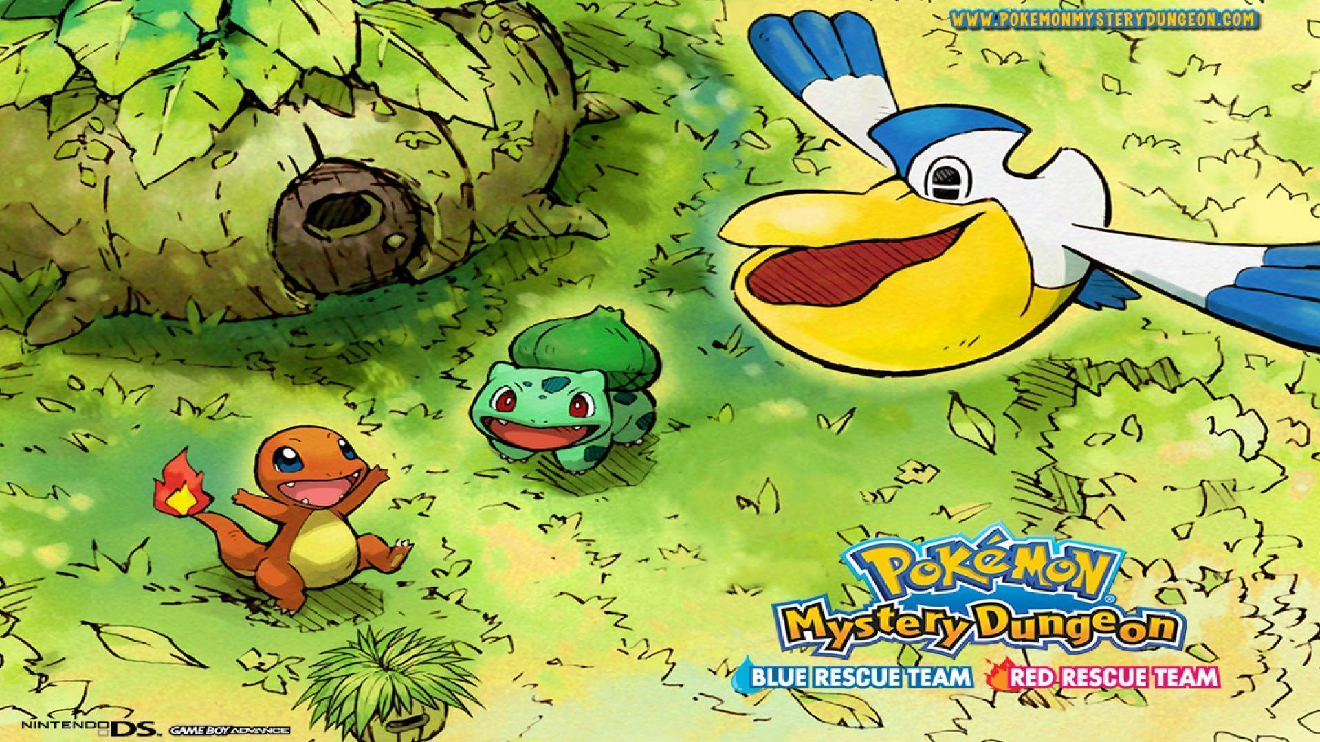 Wallpapers pokemonmysterydungeonbluerescueteam