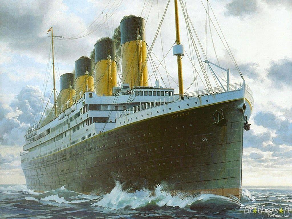 Download Free Titanic in daytime wallpaper, Titanic in daytime ...