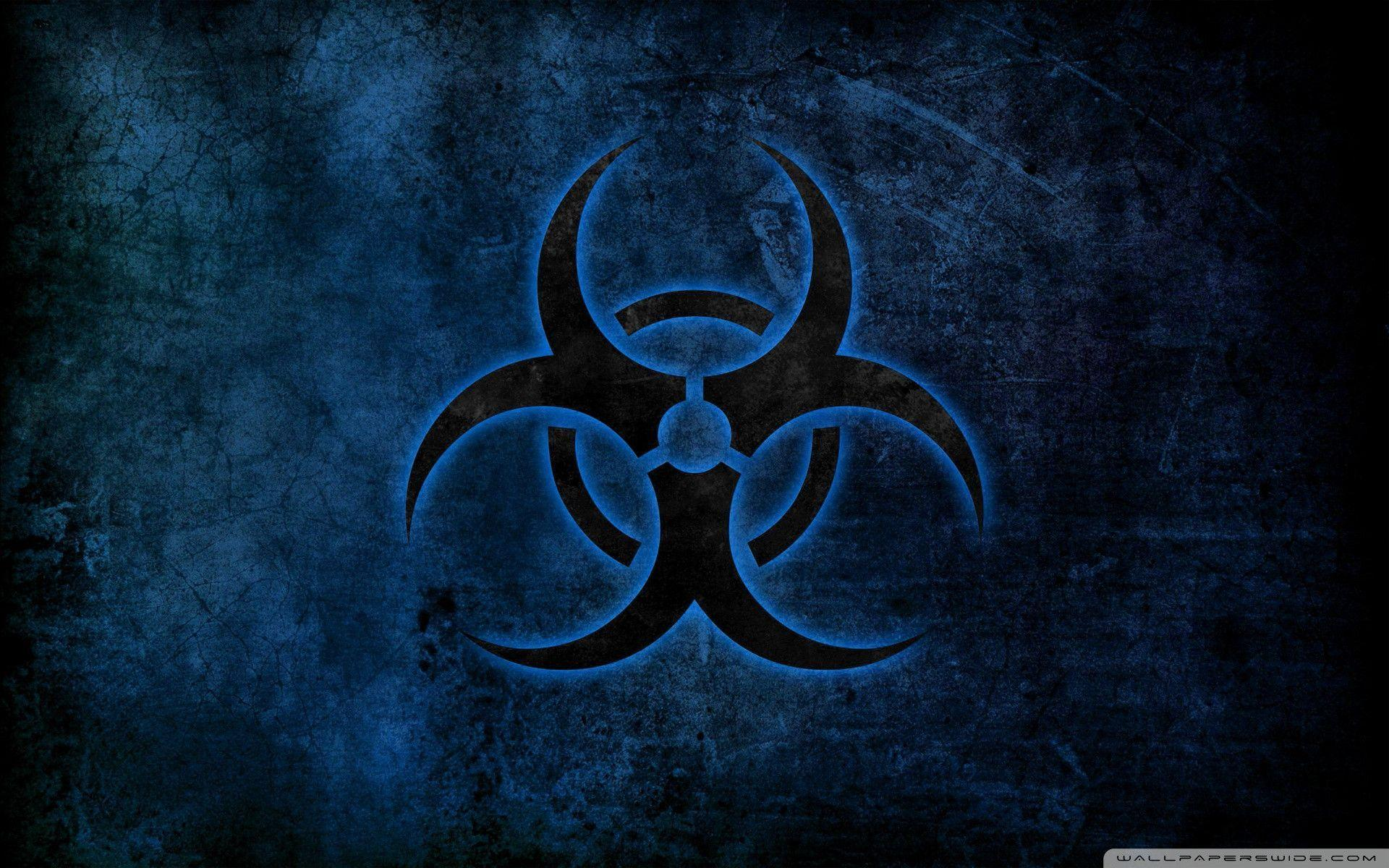 Radioactive Zombie Wallpaper Radioactive Sym...