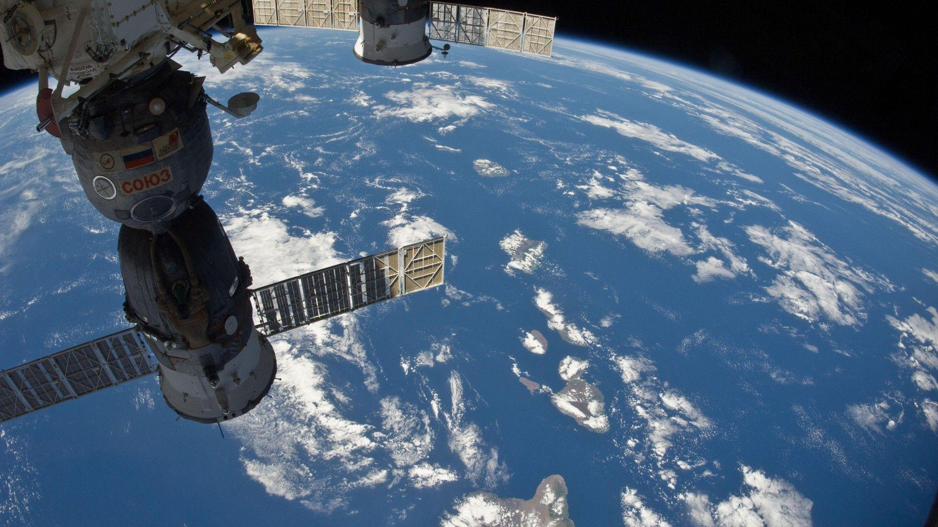 what does the space station look like from earth - photo #38