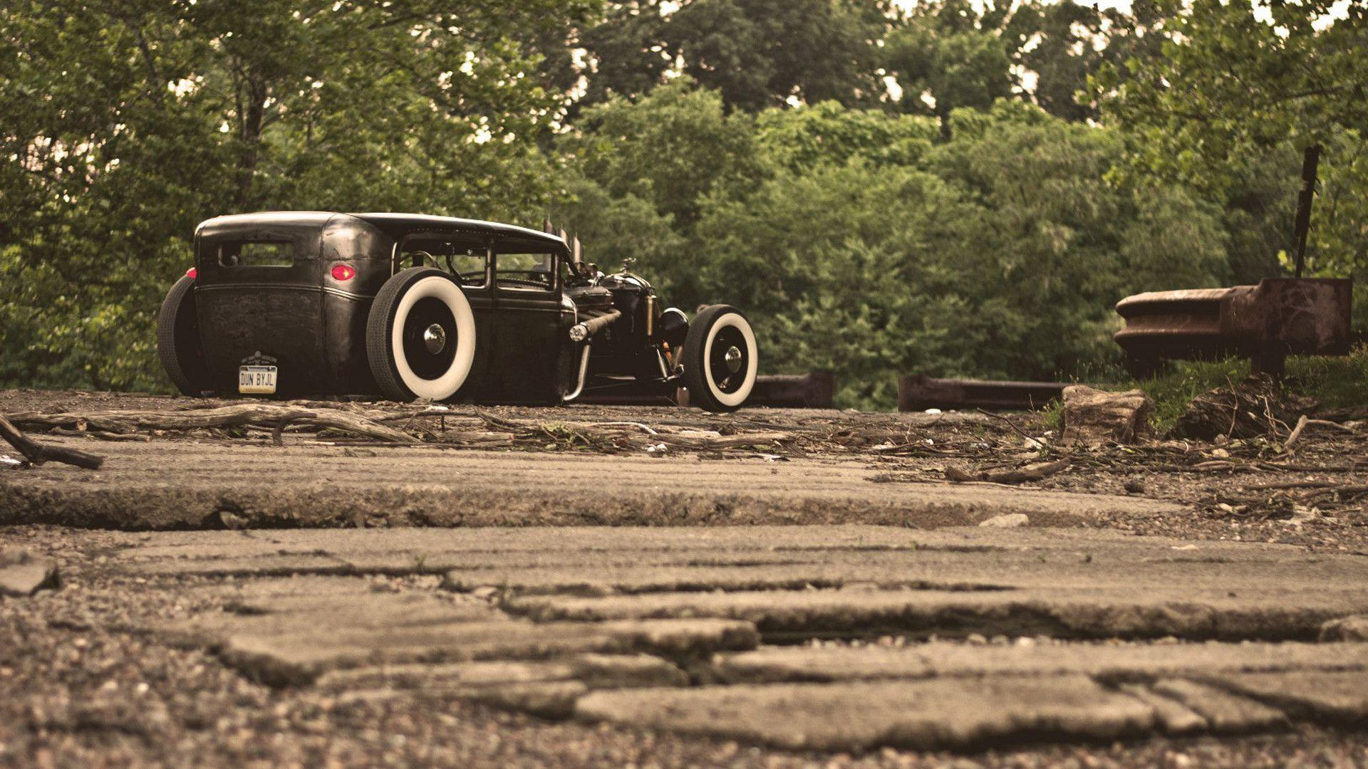 Wallpapers ford, model a, rat, rod, ford