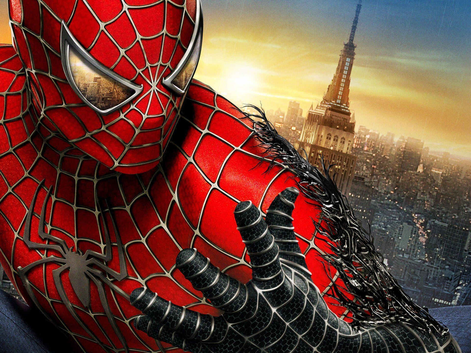 Wallpapers For > Spiderman 3 Logo Wallpaper Hd