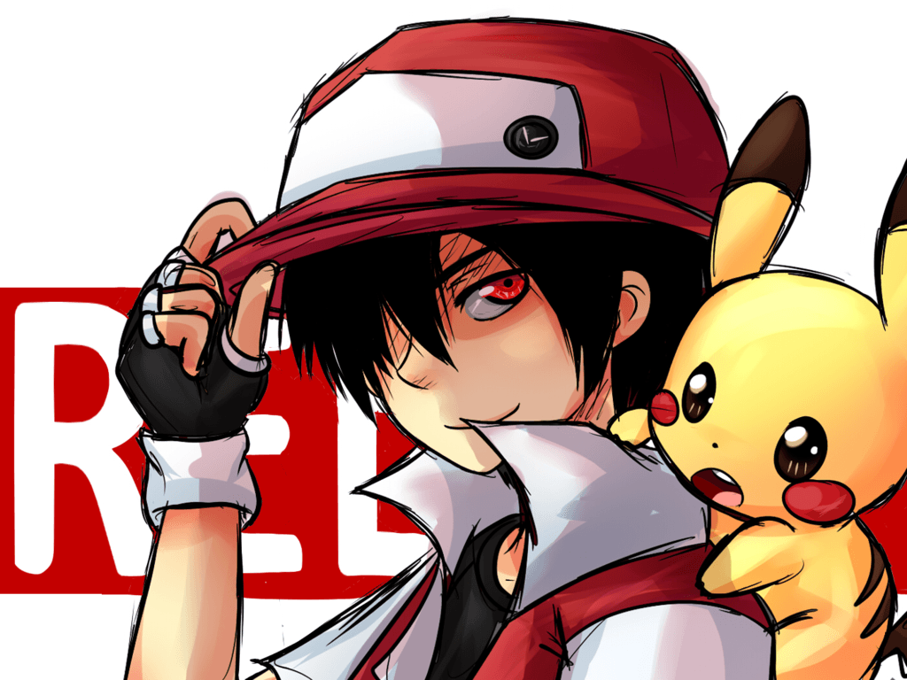 Image For > Trainer Red Pokemon Wallpapers