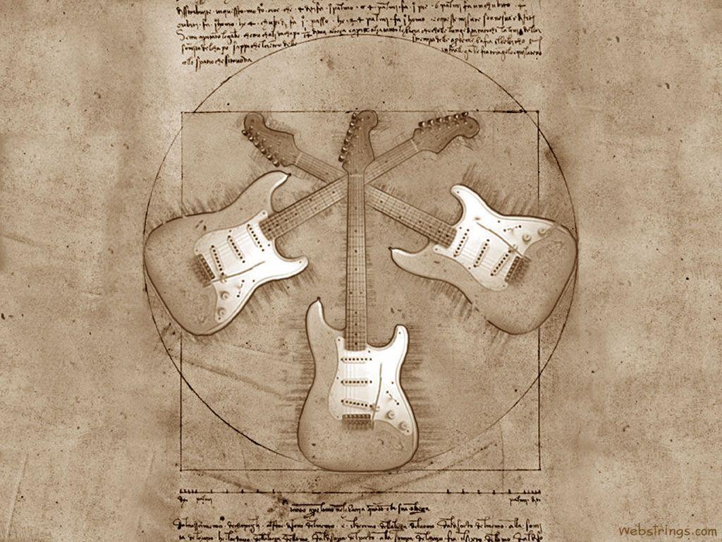Guitar Wallpaper - Guitar Art - Guitar Strings - Webstrings ...