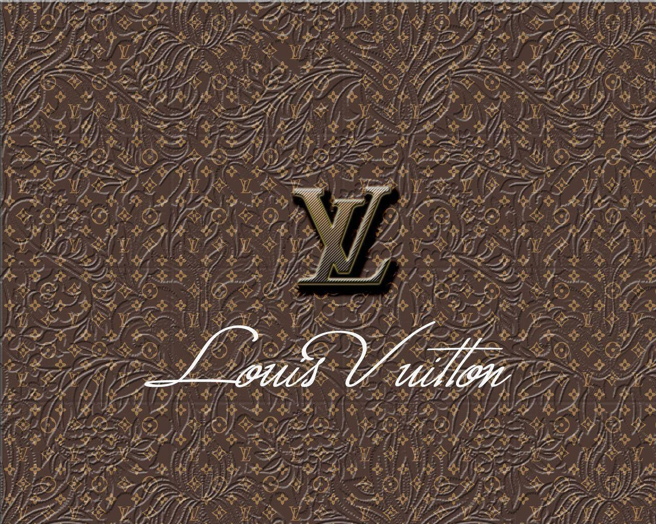 Wallpapers For > Louis Vuitton Wallpapers Gold