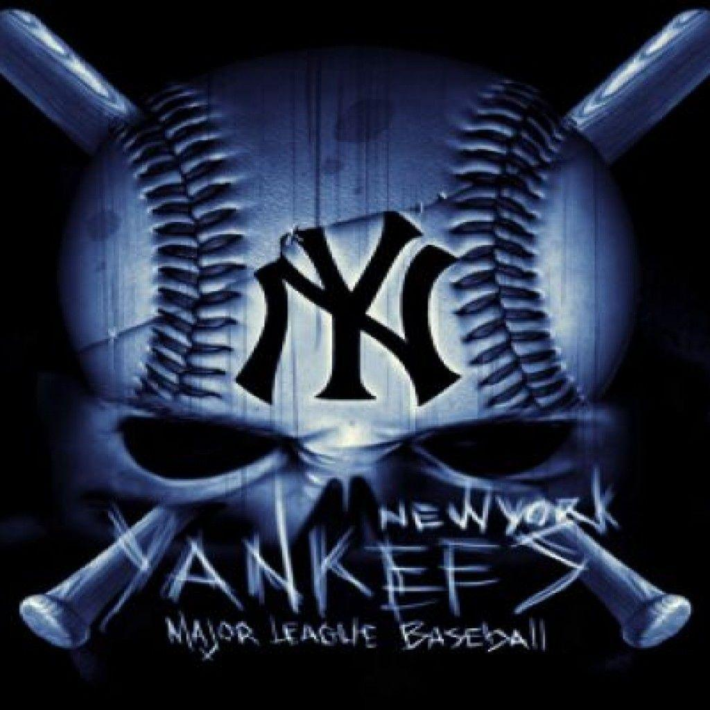 New York Yankees Logo Wallpapers Wallpaper Cave