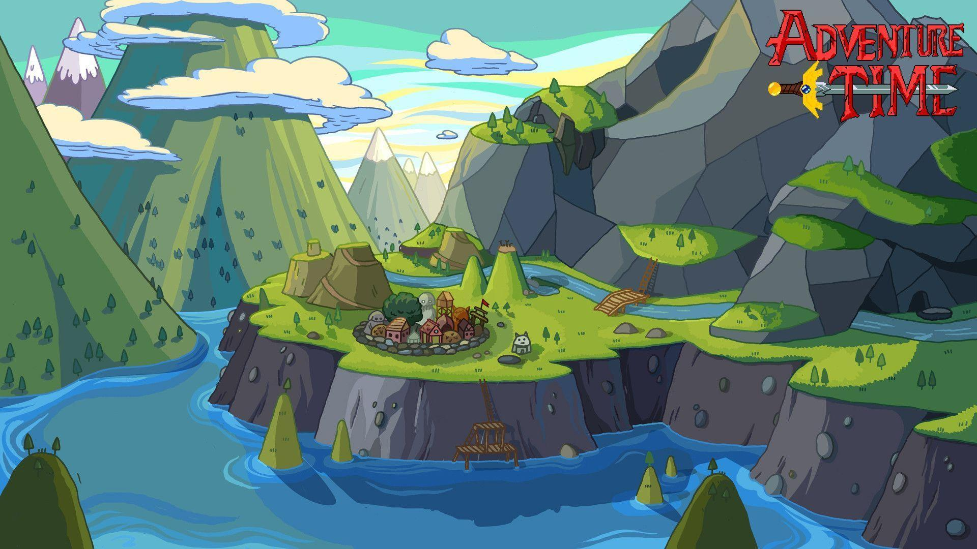 Adventure Time Wallpapers - Wallpaper Cave