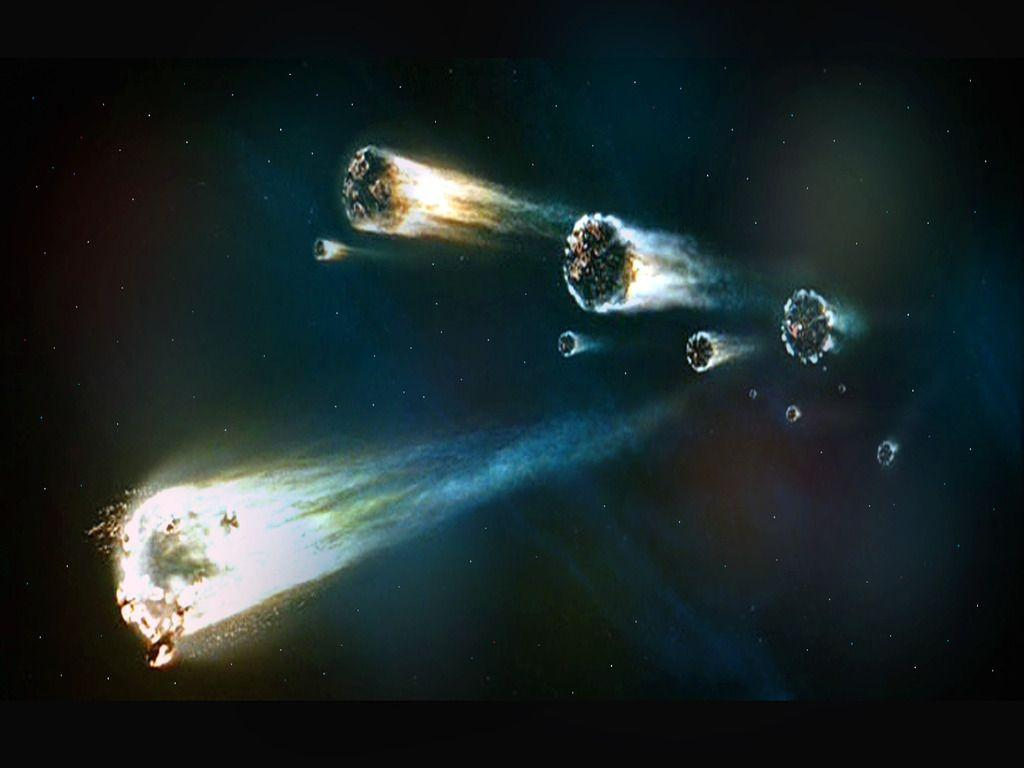 cool comets meteors and asteroids wallpaper - photo #18