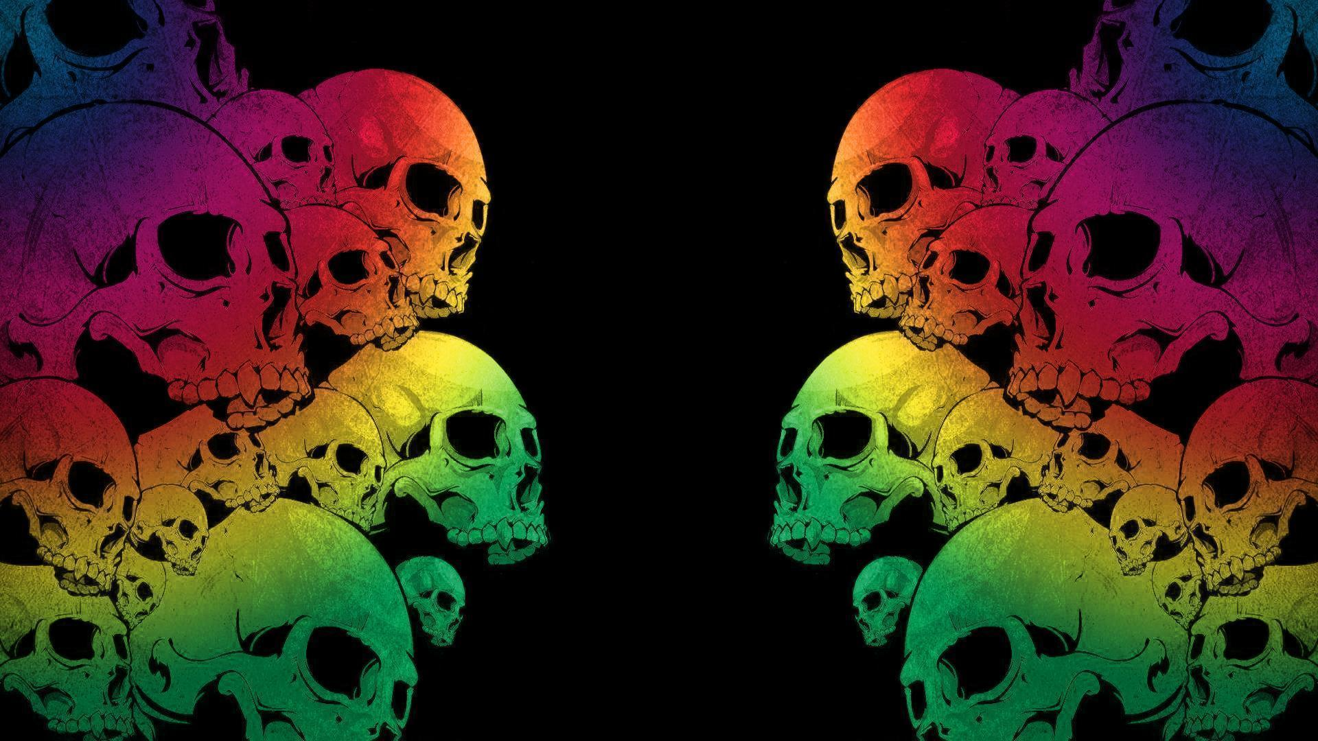 skull wallpaper wallpapers hd - photo #40