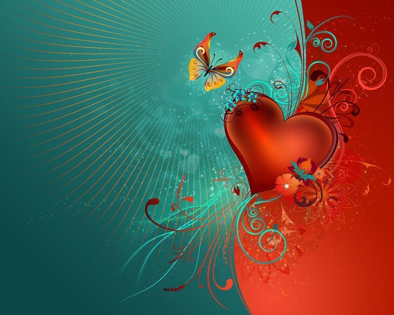 Heart wallpaper - Beautiful Pictures Wallpaper (31395907) - Fanpop