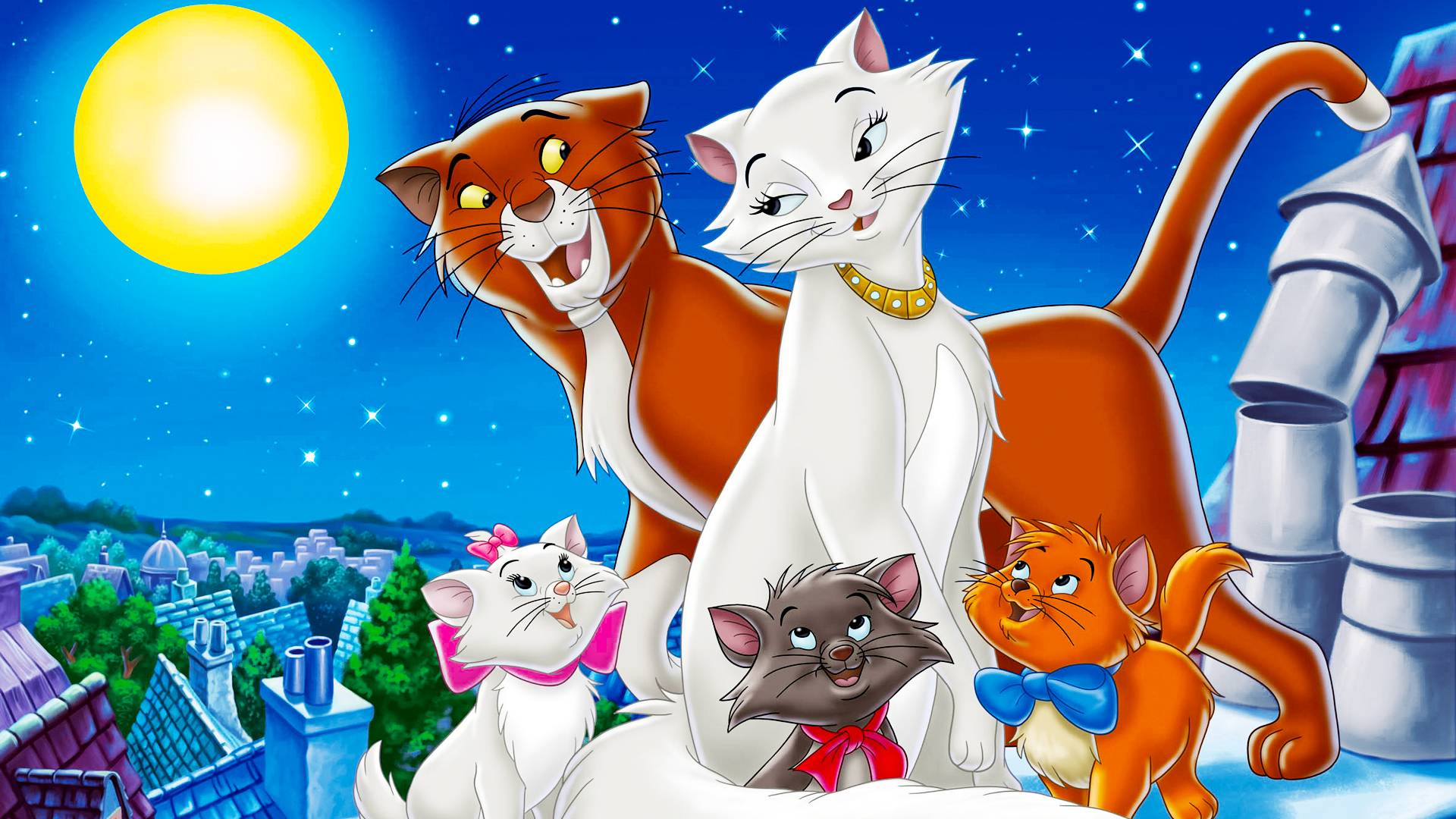The Aristocats Wallpapers - Wallpaper Cave