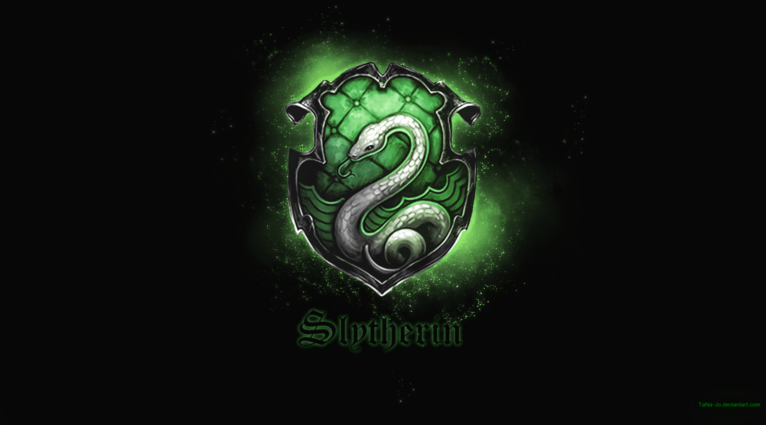 slytherin wallpaper hd by tana jo on deviantart
