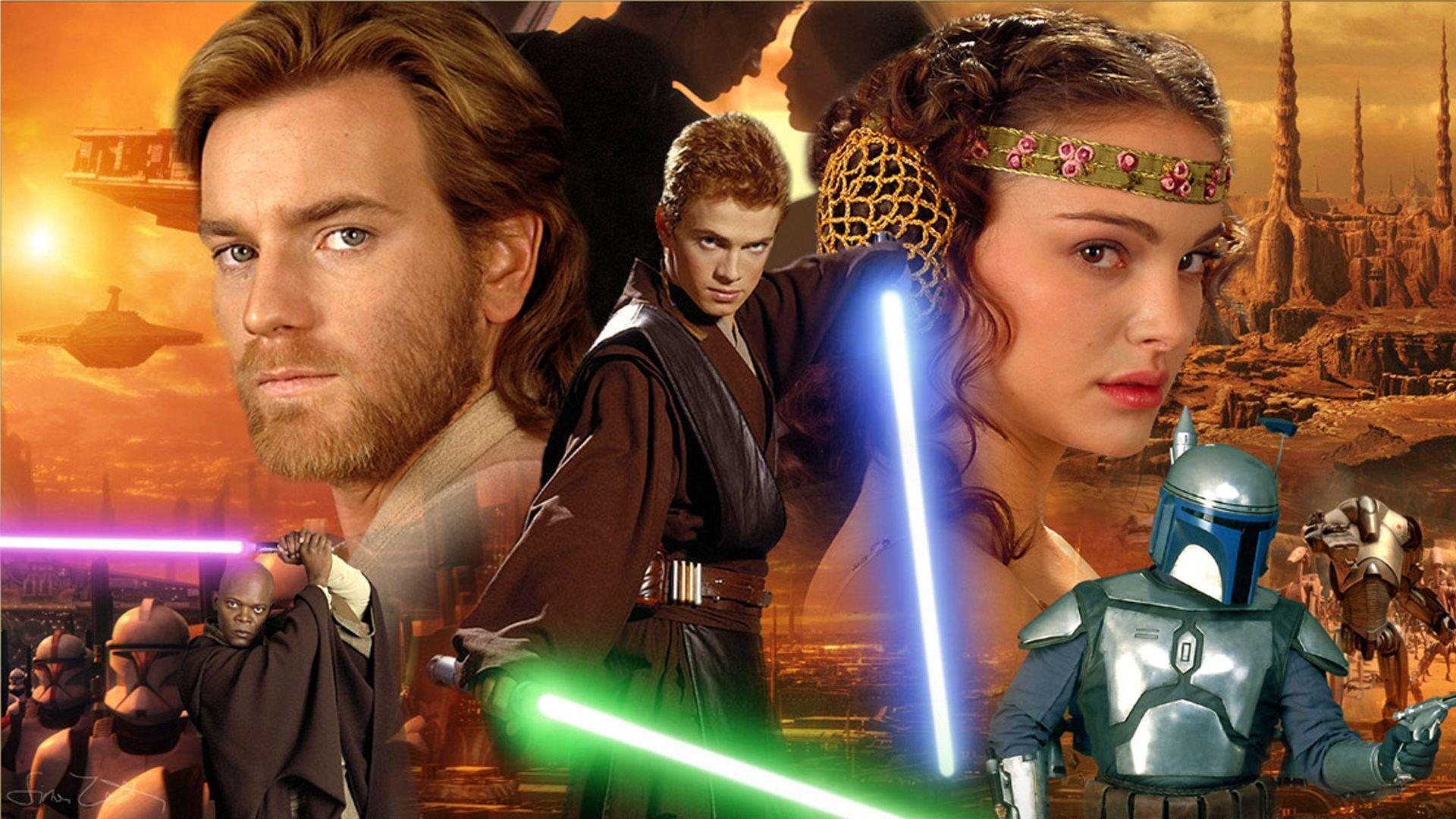 Star Wars Episode II – Attack of the Clones Wallpaper, Star Wars ...
