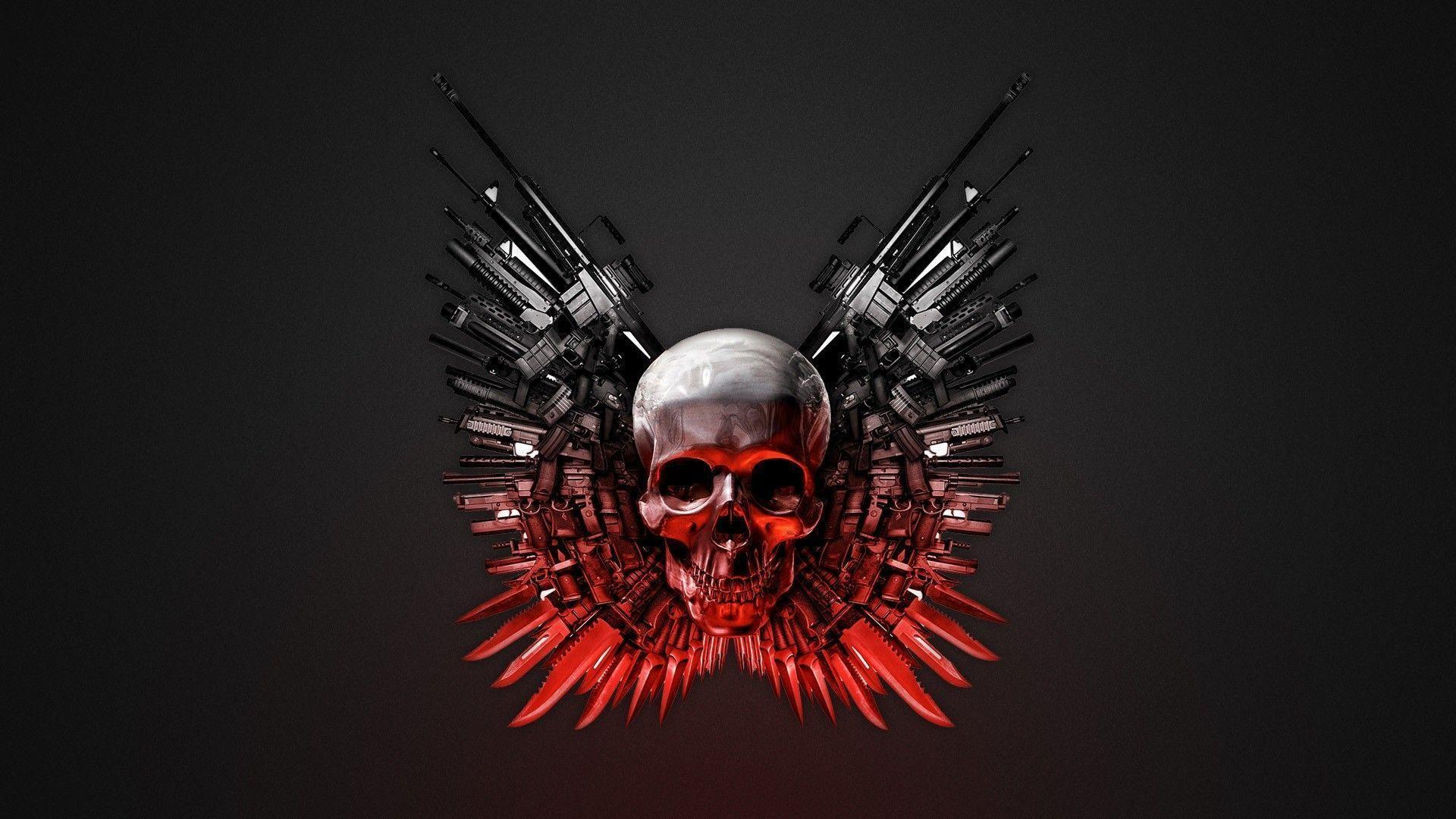 Abstract Skull Wallpapers - Wallpaper Cave