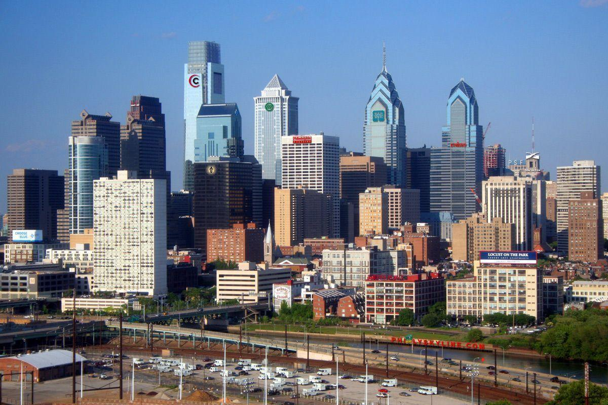 philadelphia skyline wallpaper - photo #19