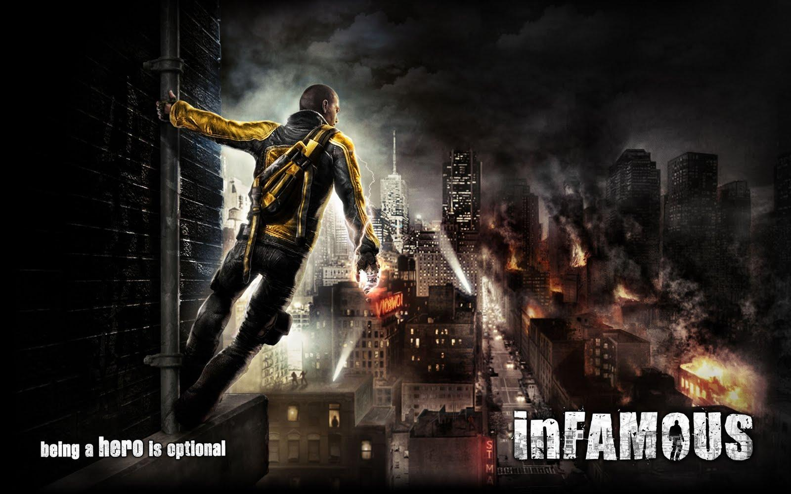 InFAMOUS Wallpaper Backgrounds 14802 HD Pictures