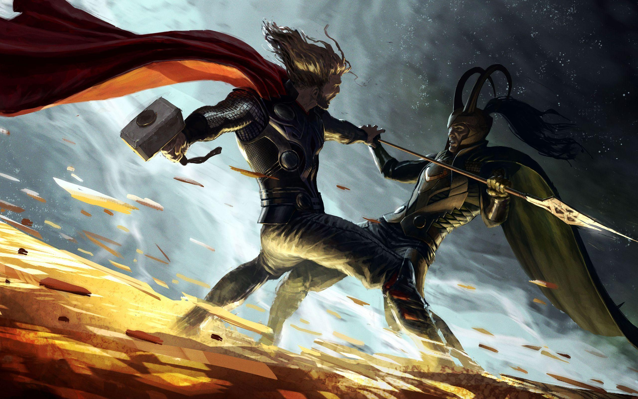 Wallpapers For > Loki Thor 2 Wallpapers Hd