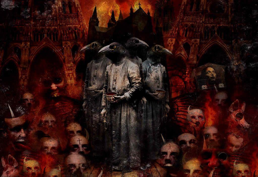 Evil Skulls Wallpaper