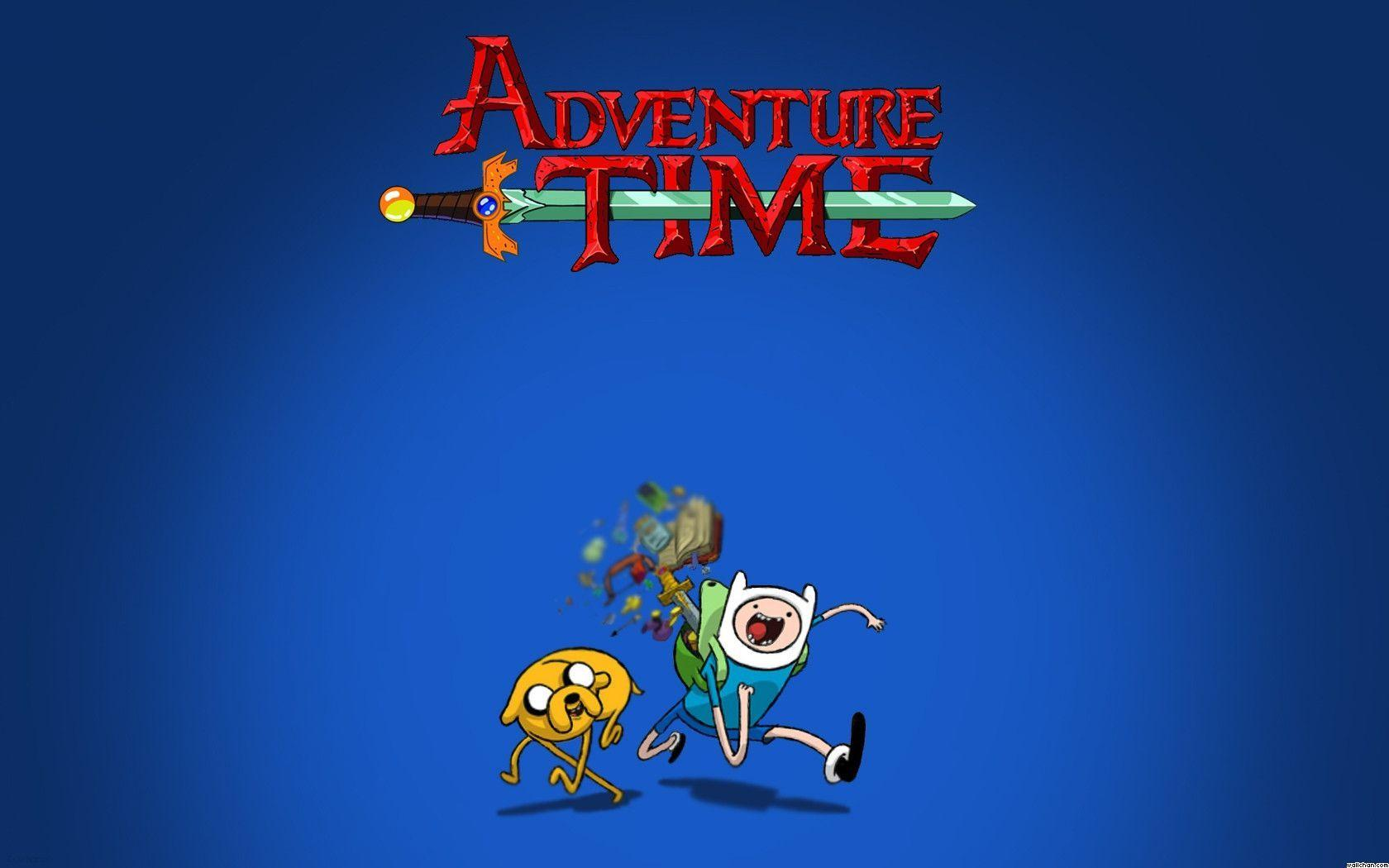 Adventure Time With Finn And Jake Wallpapers