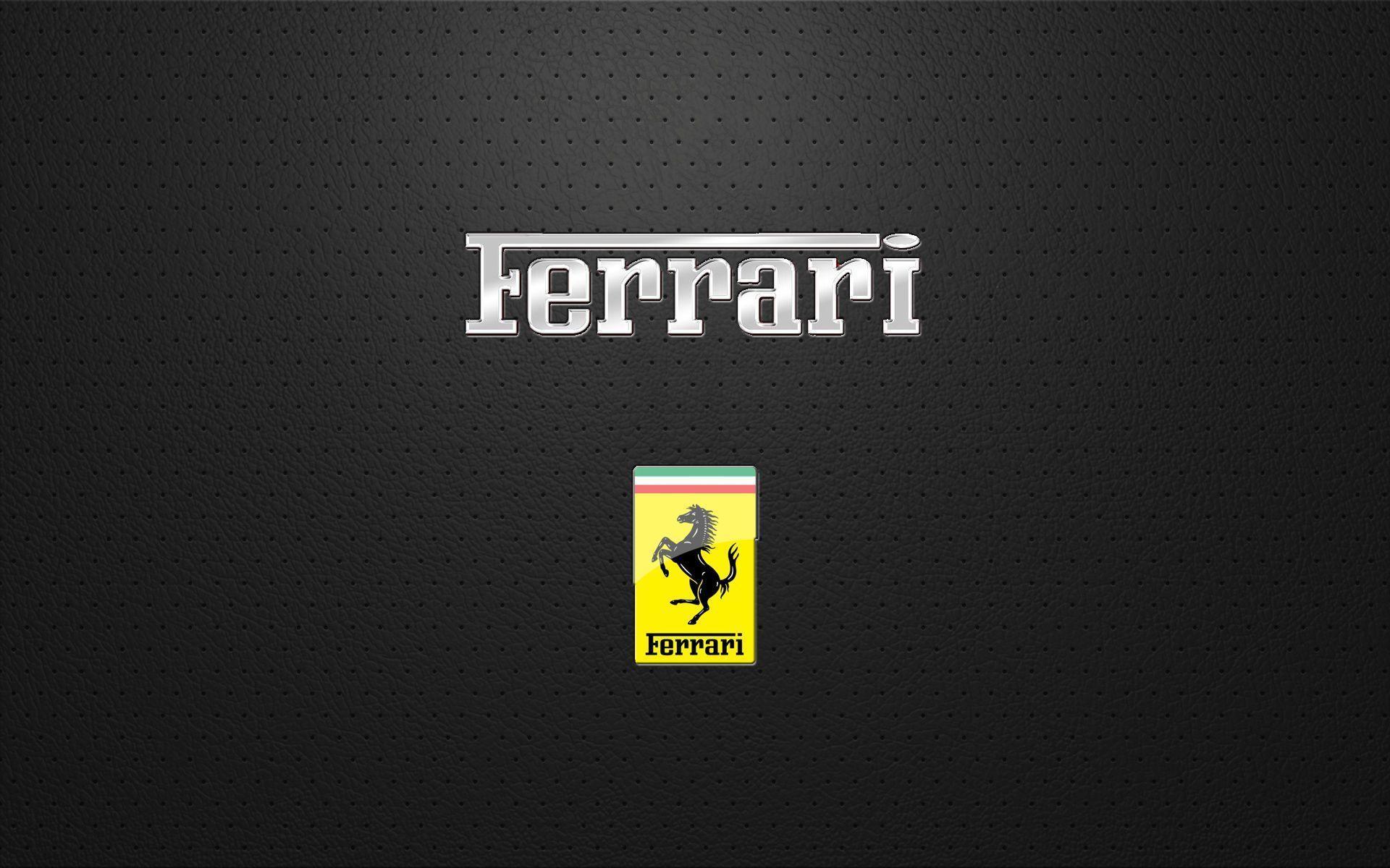 Ferrari Logo Wallpaper 19 Backgrounds | Wallruru.