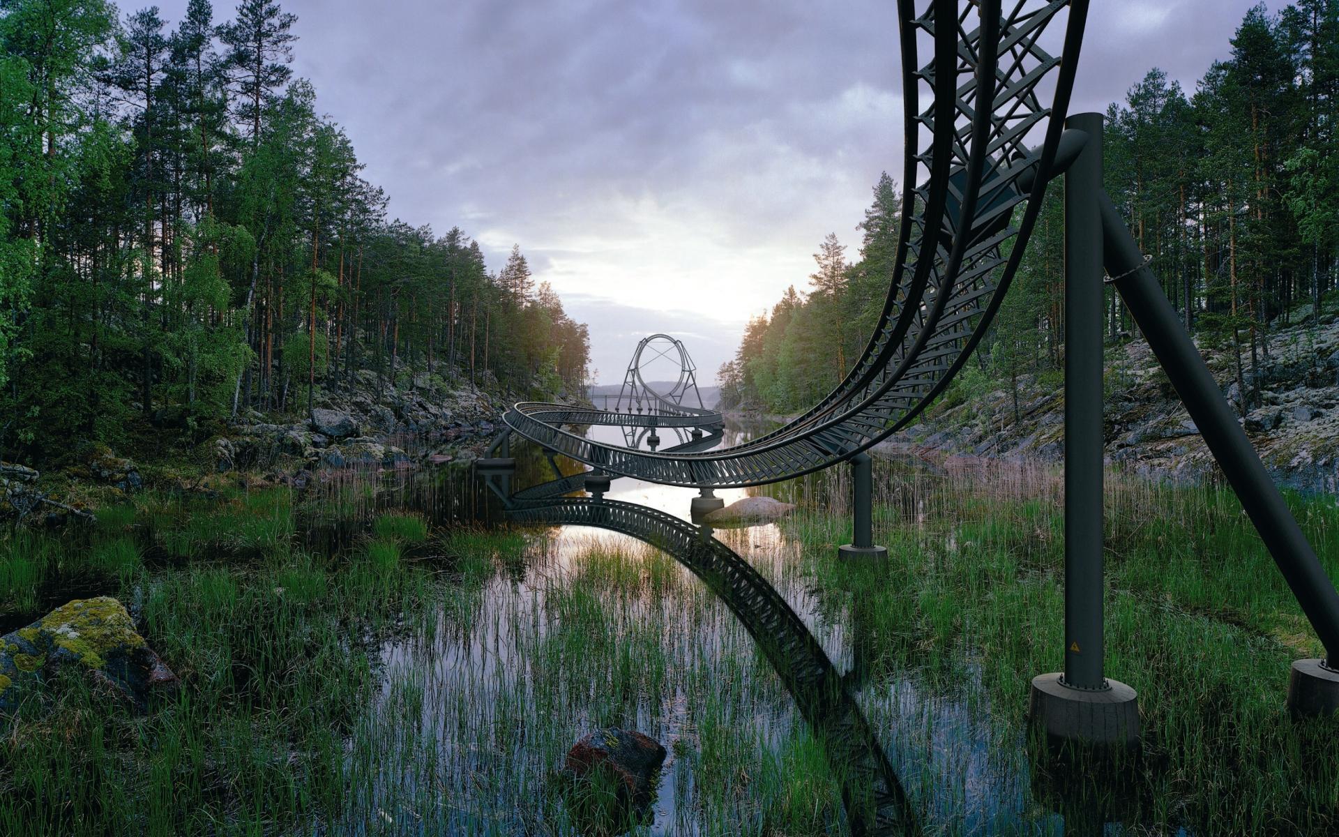 xmas roller coaster hd - photo #20