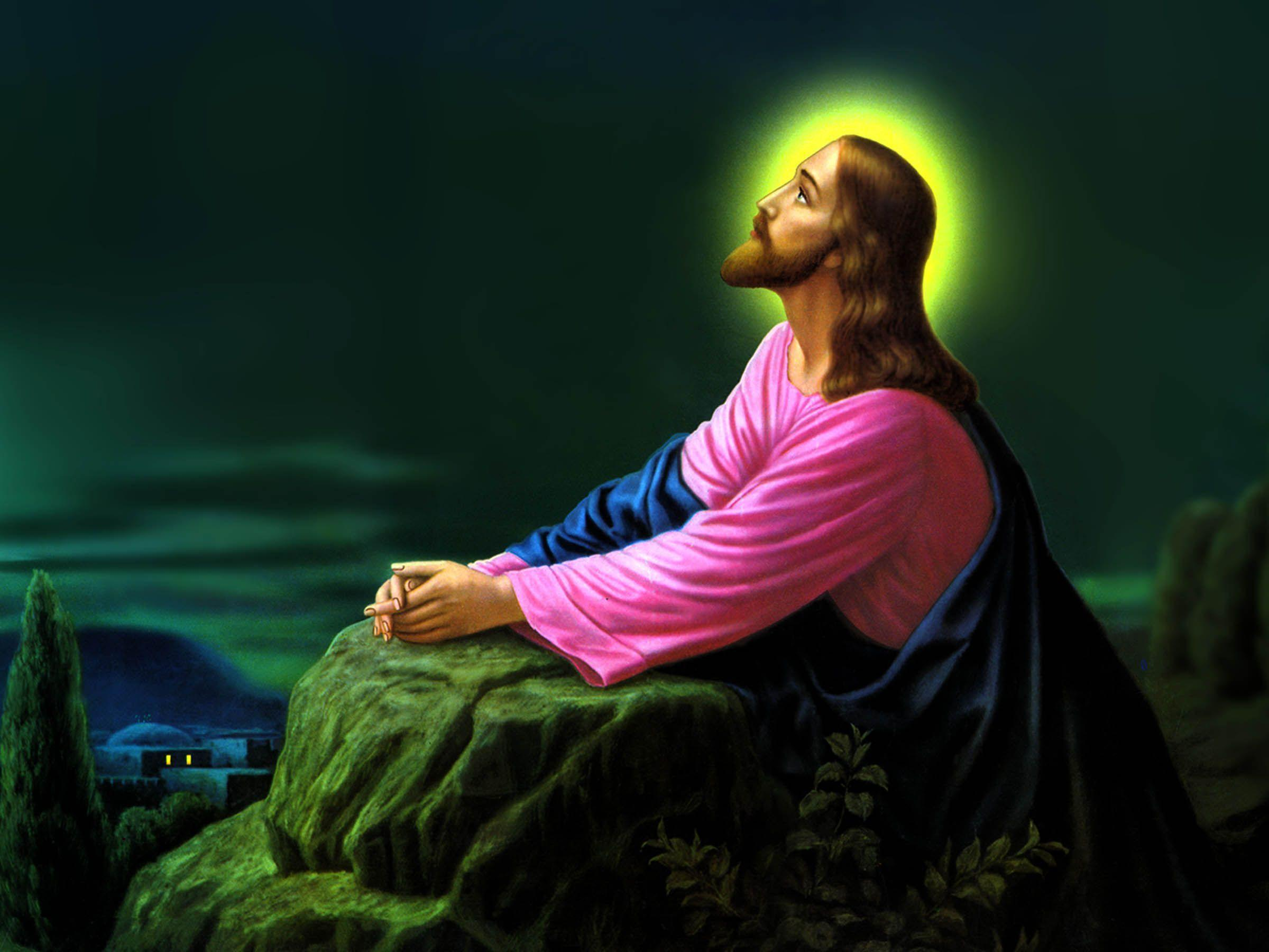 Jesus pictures wallpapers wallpaper cave Jesus praying in the garden of gethsemane