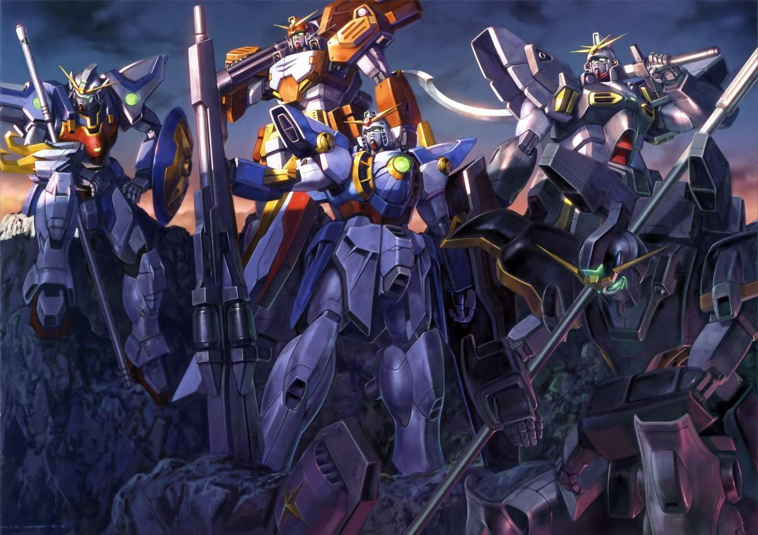Gundam Wing Zero Wallpapers Wallpaper Cave