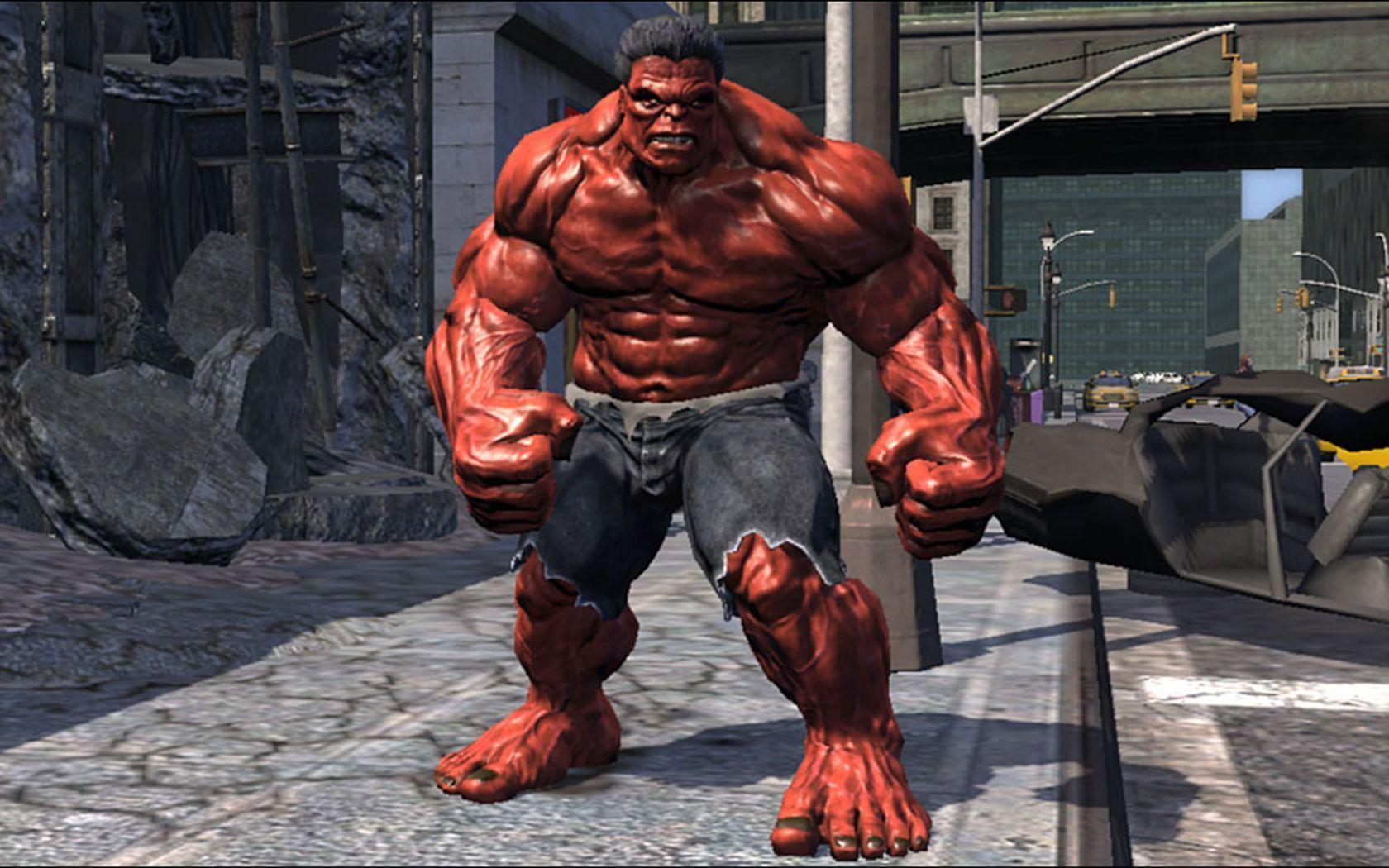 Wallpapers For > Red Hulk Wallpapers