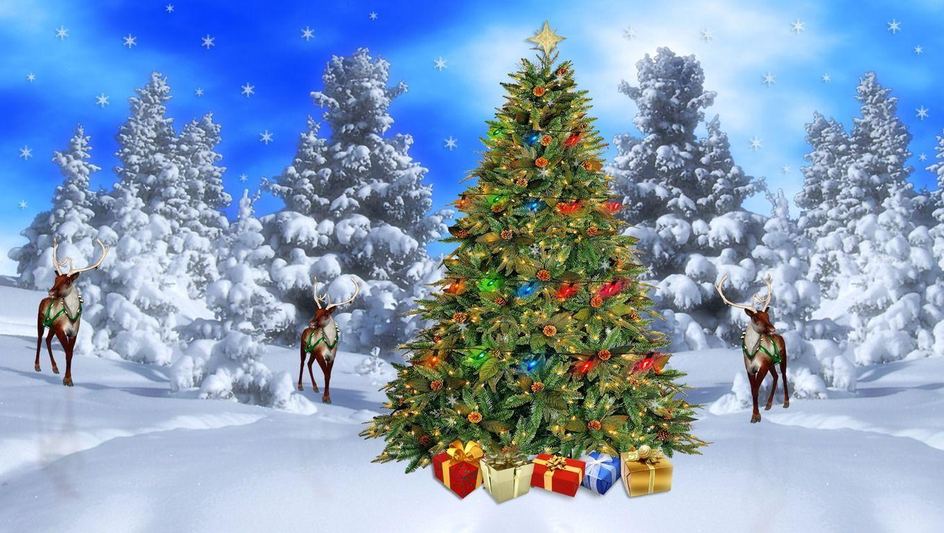 free christmas scenes wallpapers - wallpaper cave