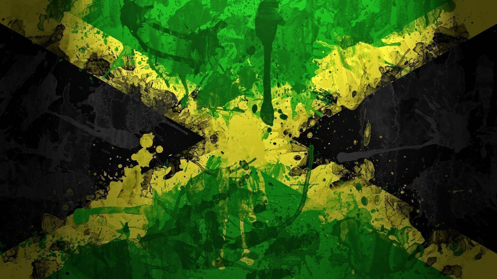 JANCOK: wallpaper Flag of Jamaica