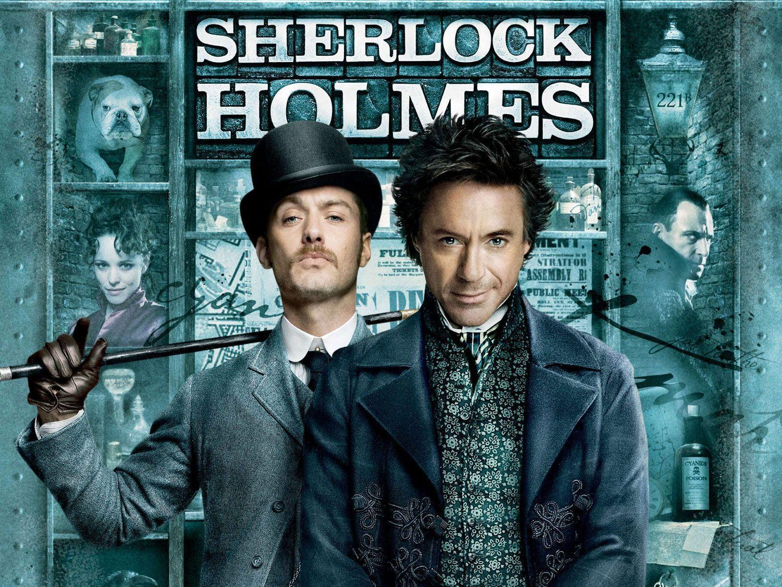 Sherlock Holmes Movie Poster Wallpapers