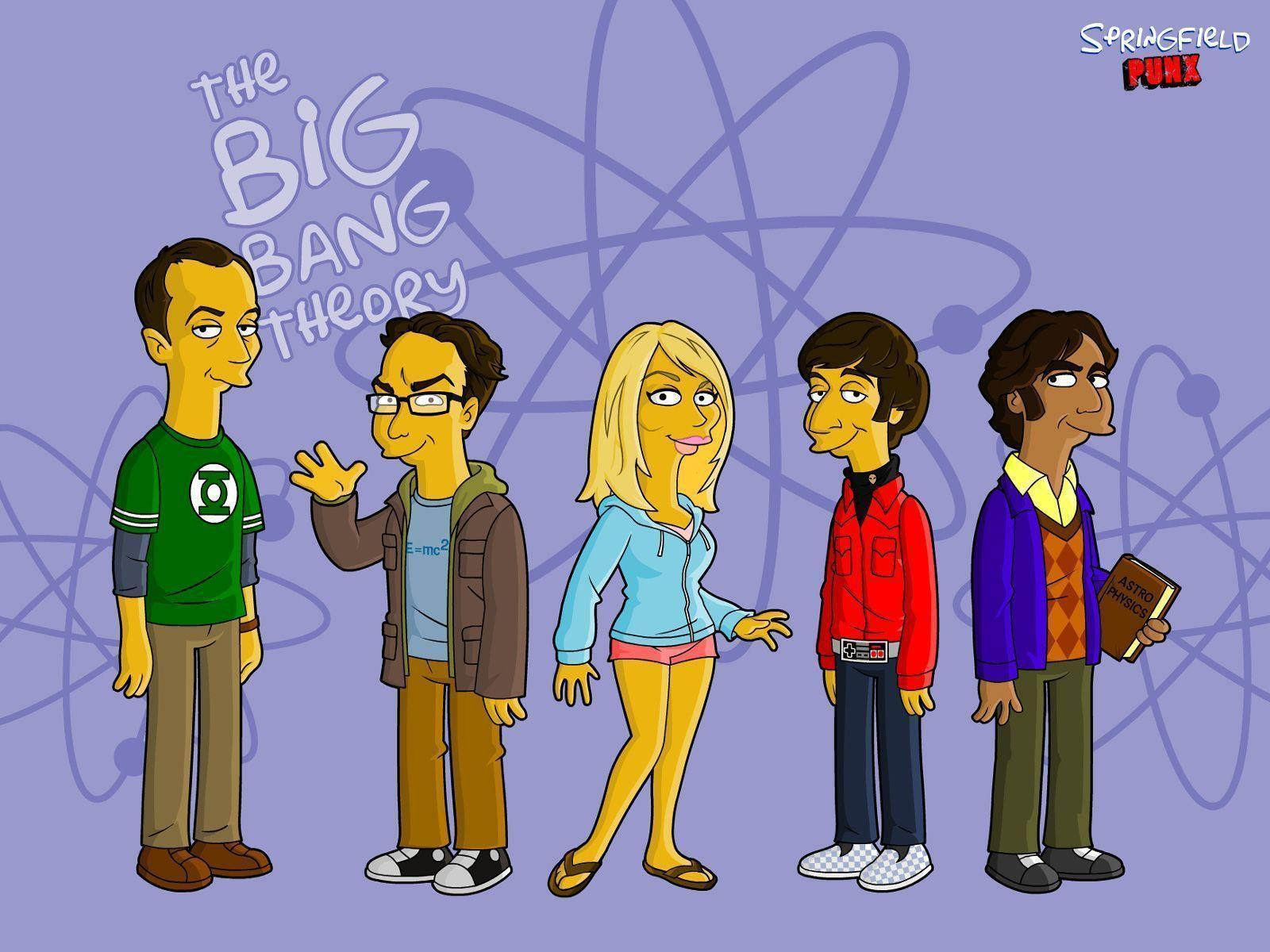 Images For > The Big Bang Theory Logo Wallpaper