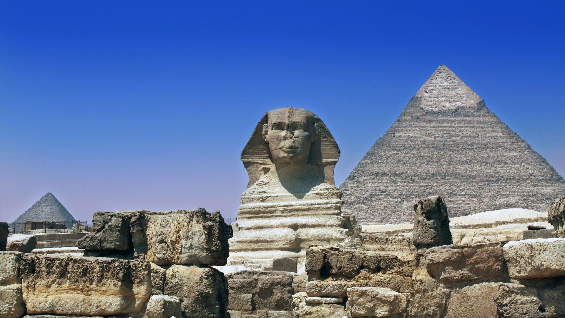 Cairo Sphinx Pyramids wallpapers