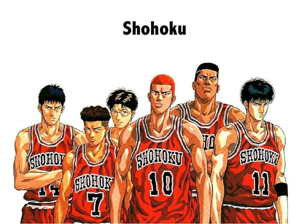 slam dunk anime wallpapers wallpaper cave